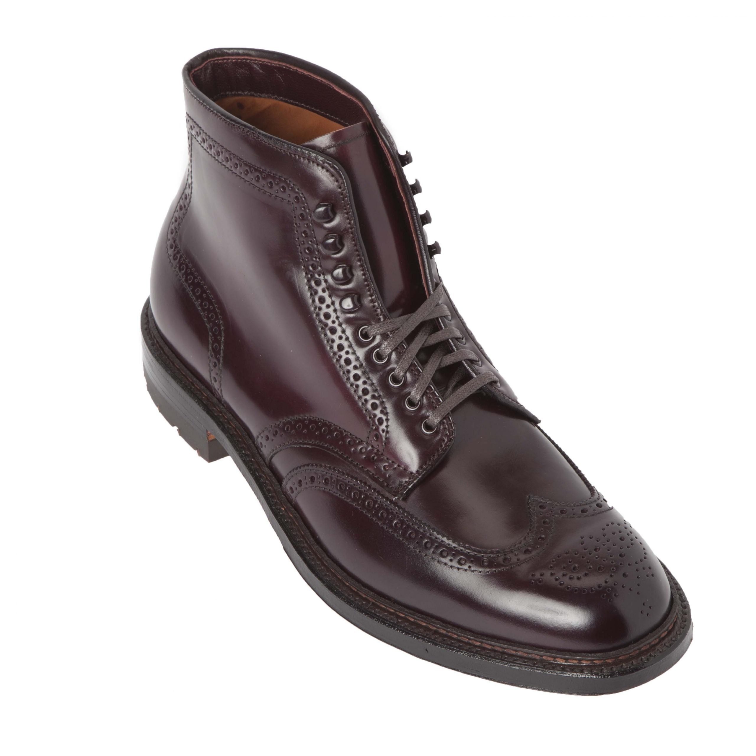 Wing Tip BootColor 8 Shell