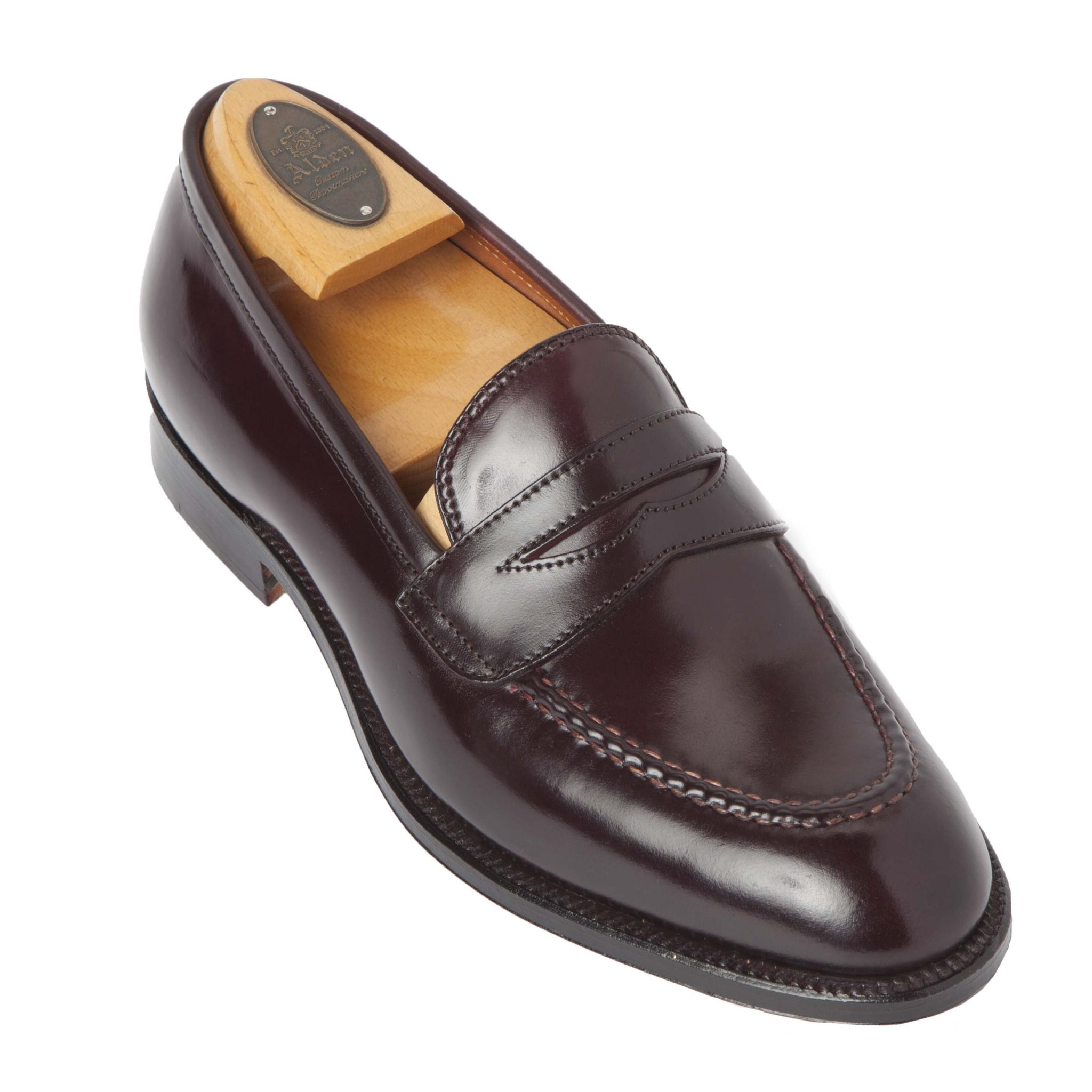 Slip on alden shoes madison avenue new york for The alden