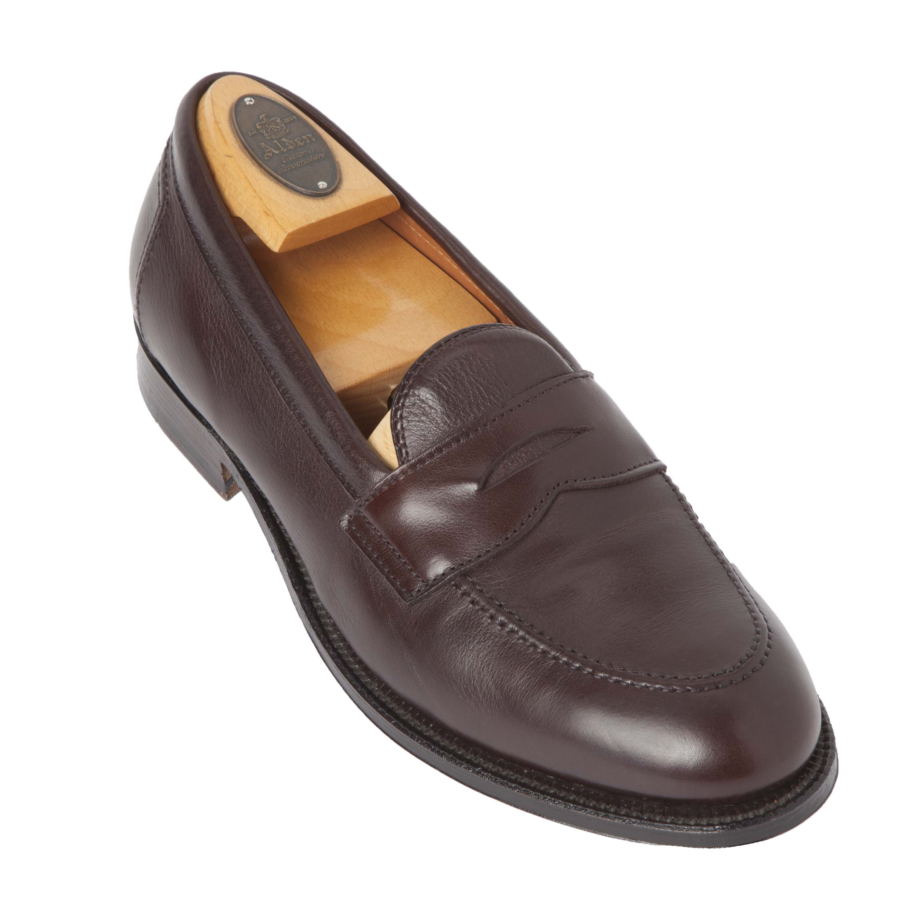 b2cae54c2dfa Flex Penny LoaferBrown Calfskin9694F – Alden Shoes Madison Avenue ...