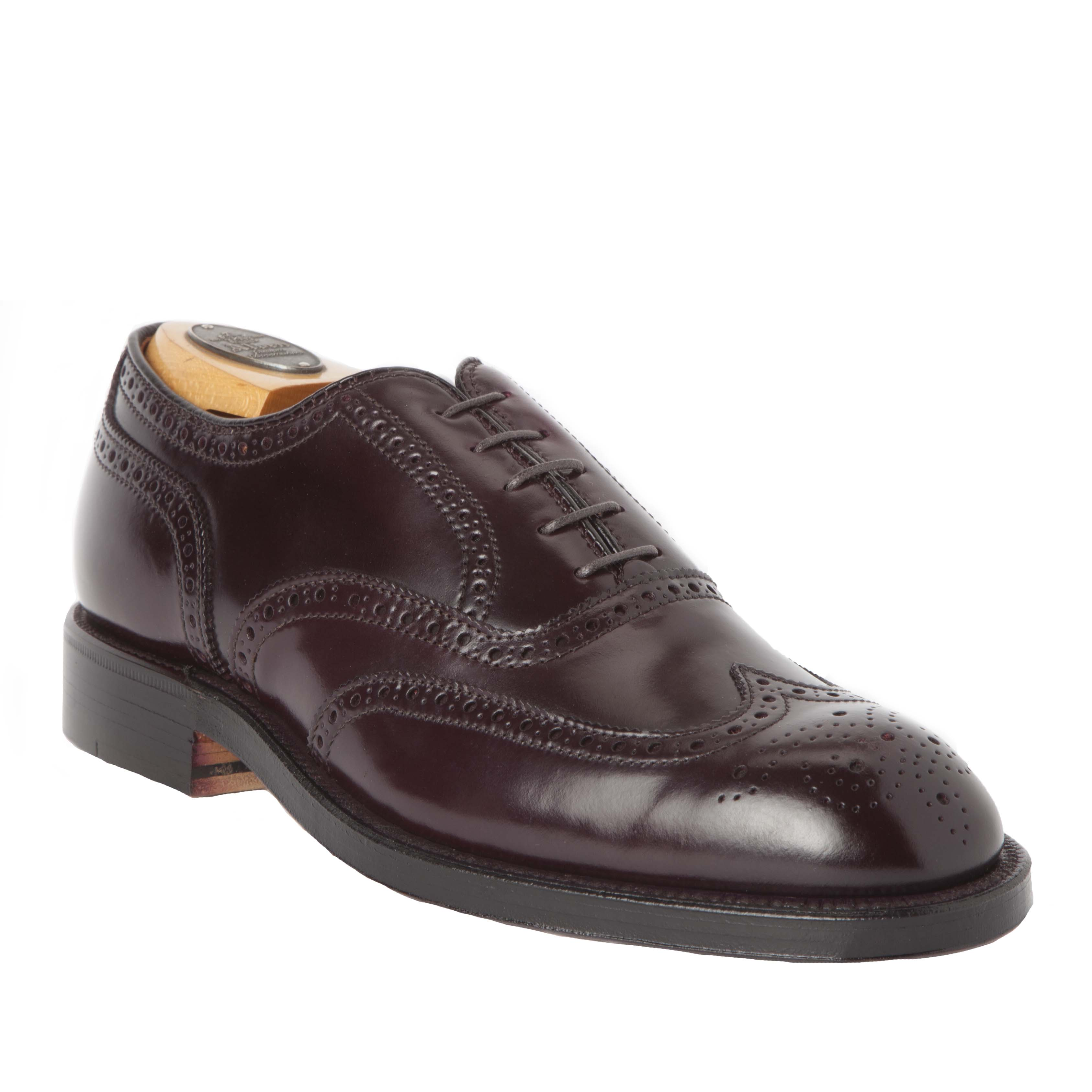 Wing tip balcolor 8 shell cordovan974 alden shoes for The alden