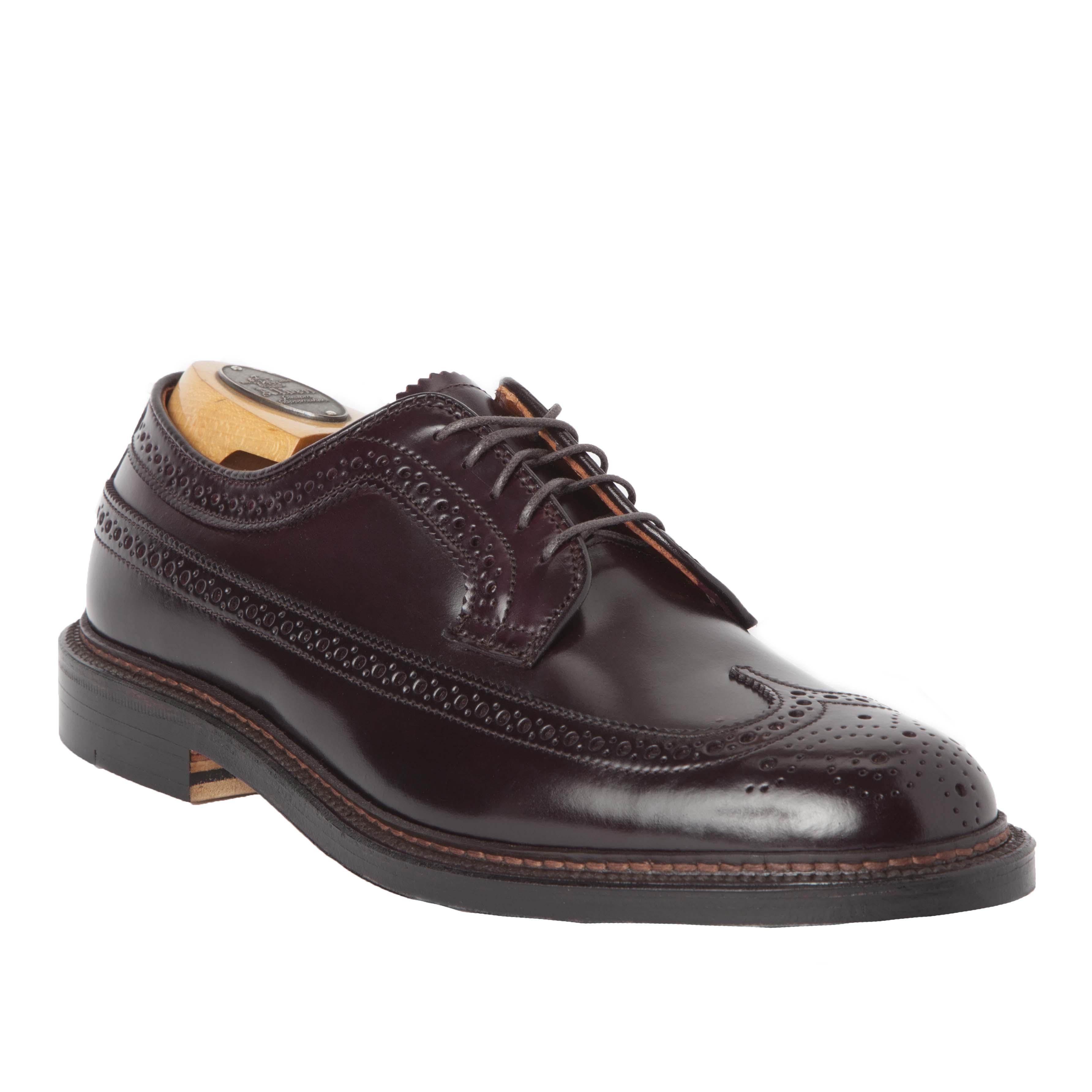 Long Wing Bluchercolor 8 Shell Cordovan975 Alden Shoes