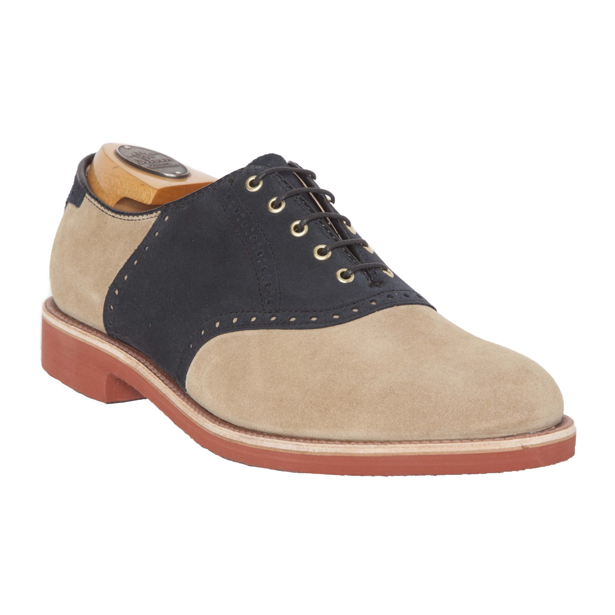 Suede Saddle Shoes