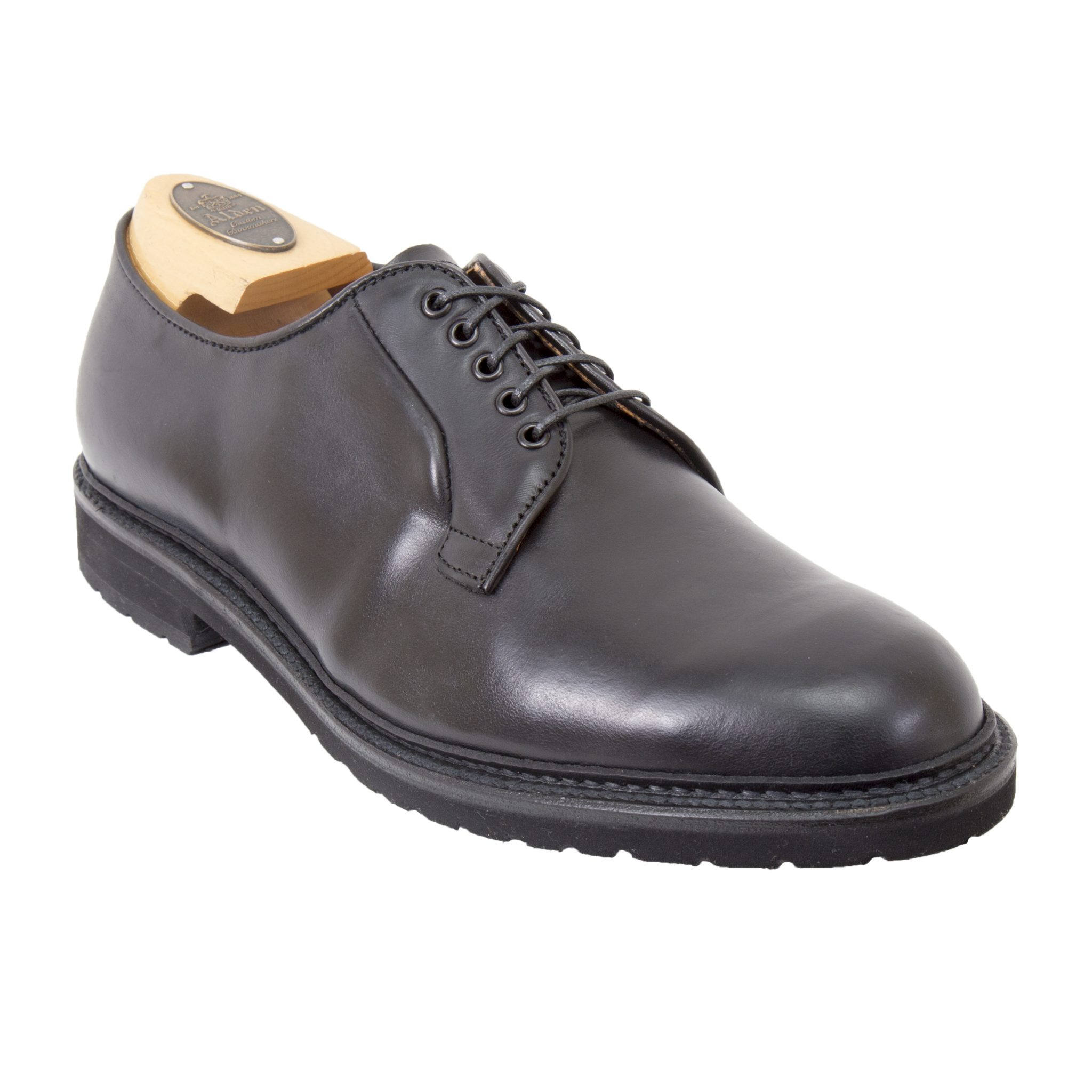 Plain toe blucherblack chromexcel9435s alden shoes for The alden