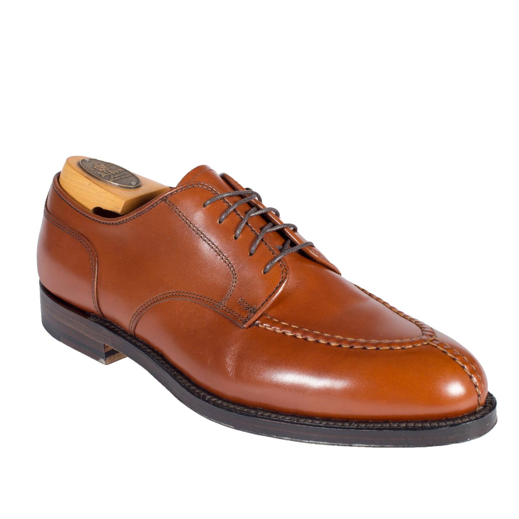 Unlined plain toe bluchersnuff suede29336f alden shoes for The alden