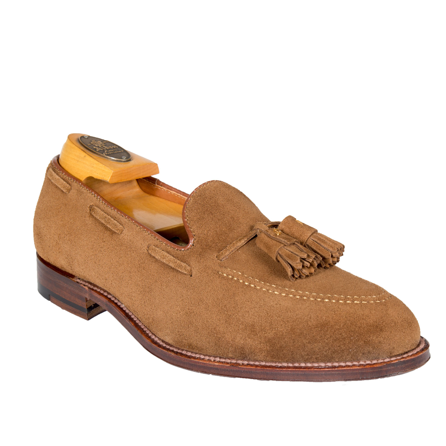 3b02db07b45 Tassel LoaferSnuff Suede3403 – Alden Shoes Madison Avenue New York