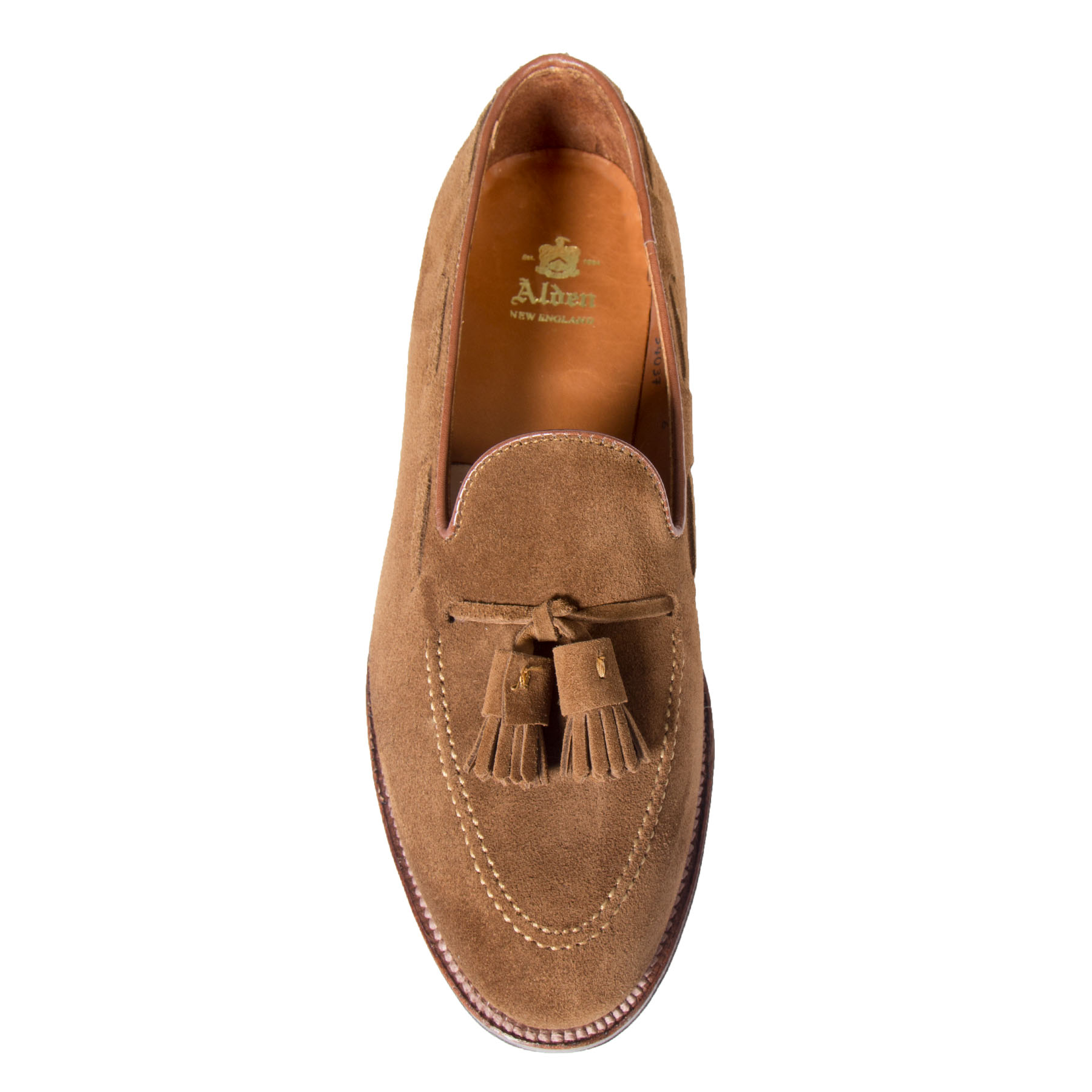 fe141c4f77c Tassel LoaferSnuff Suede3403 – Alden Shoes Madison Avenue New York
