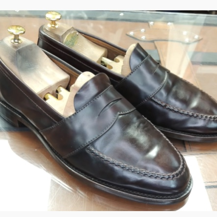 Gilmore Loafer<br>Color 8 Shell<br>Full Strap LHS