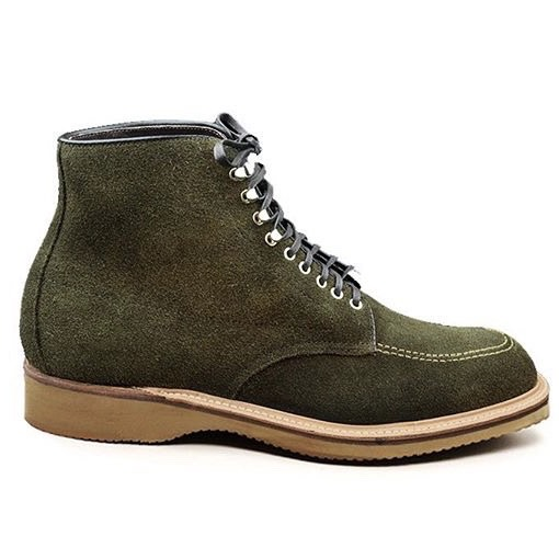 Duncan Indy Boot<br>Loden Suede<br>Crowd Funded Style