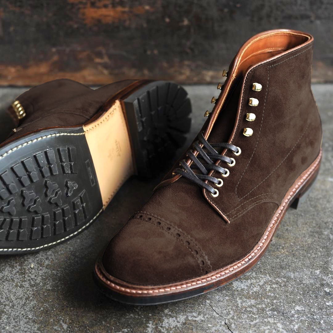 Battalion PCT Boot<br>Chocolate Suede<br>Crowd Funded Style