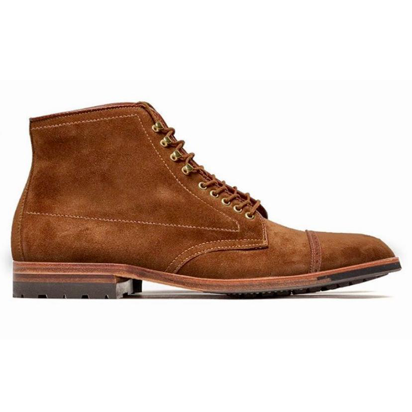 Jumper Boot<br>Snuff Suede<br>Crowd Funded Style