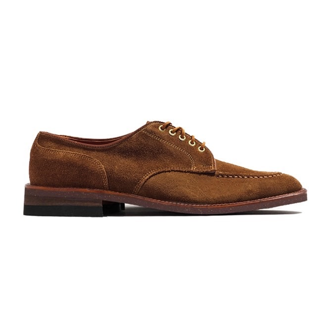 Archer U Tip Blucher<br>Snuff Suede<br>Crowd Fund Deposit