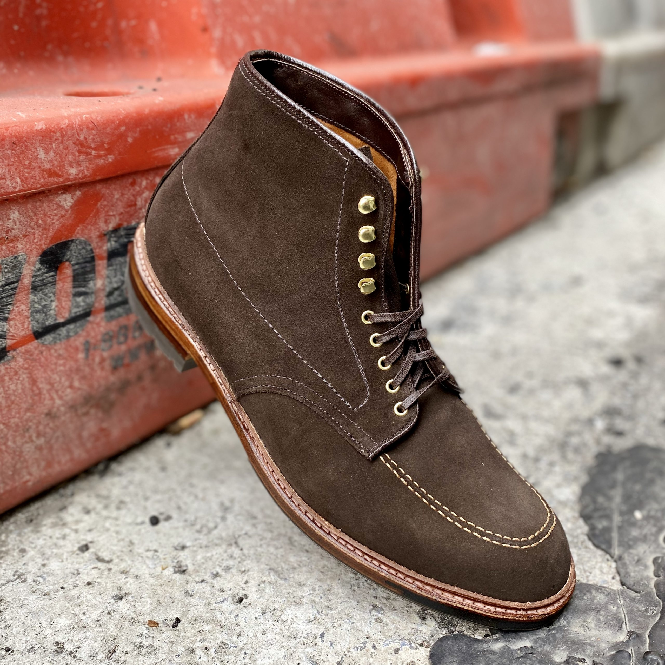 Choco Indy Boot<br>Chocolate Brown Suede<br>D0915HC