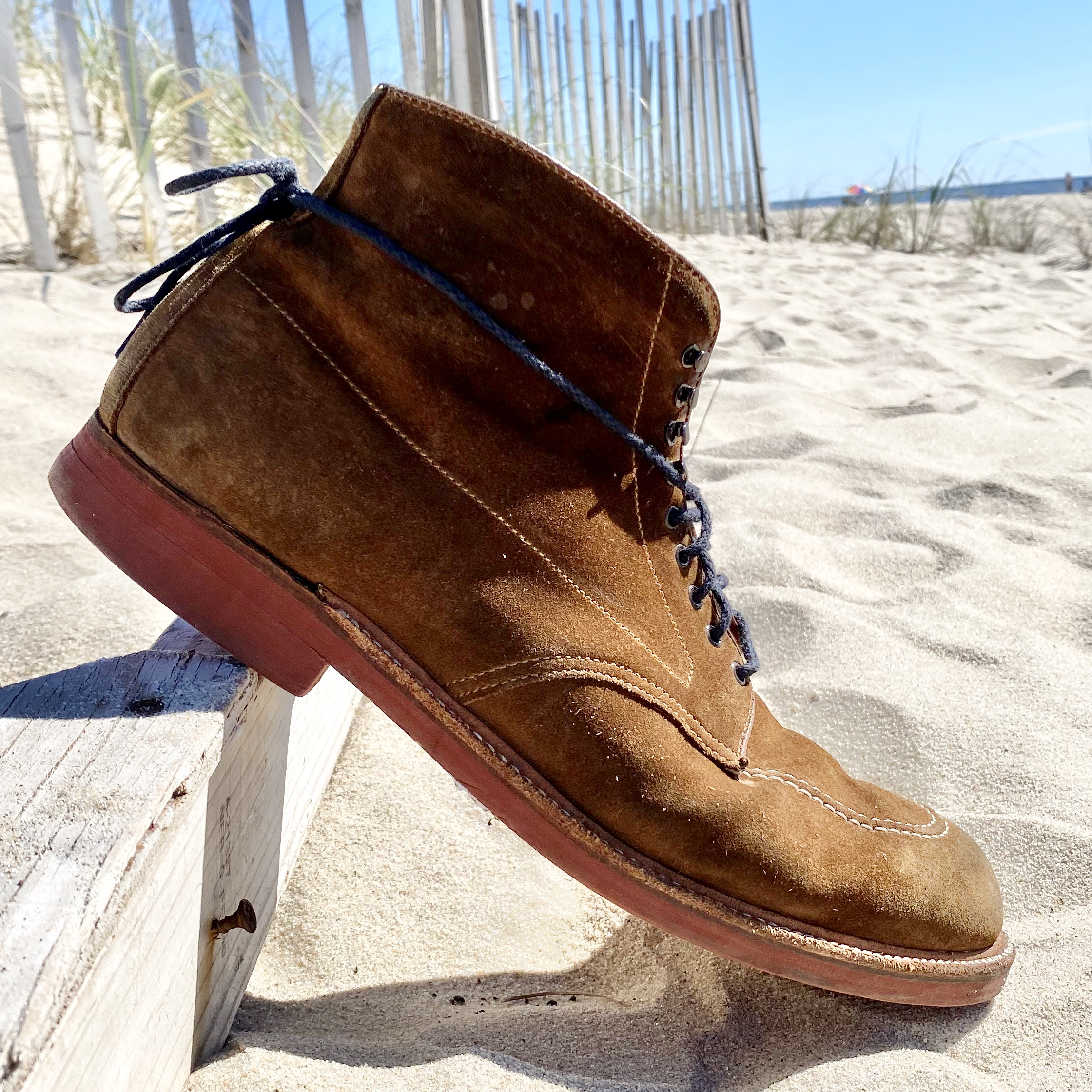 Redwood Indy Boot<br>Snuff Suede<br>40531H (Preorder)