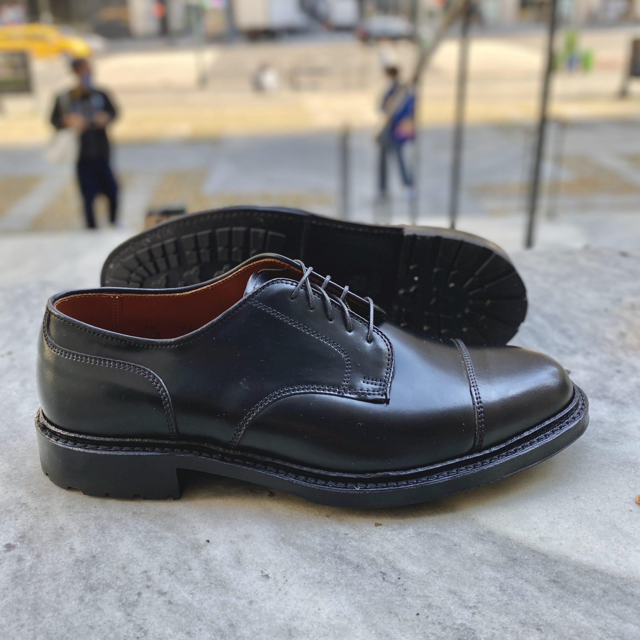 DeRosa Captoe Blucher<br>Black Shell Cordovan<br>2175