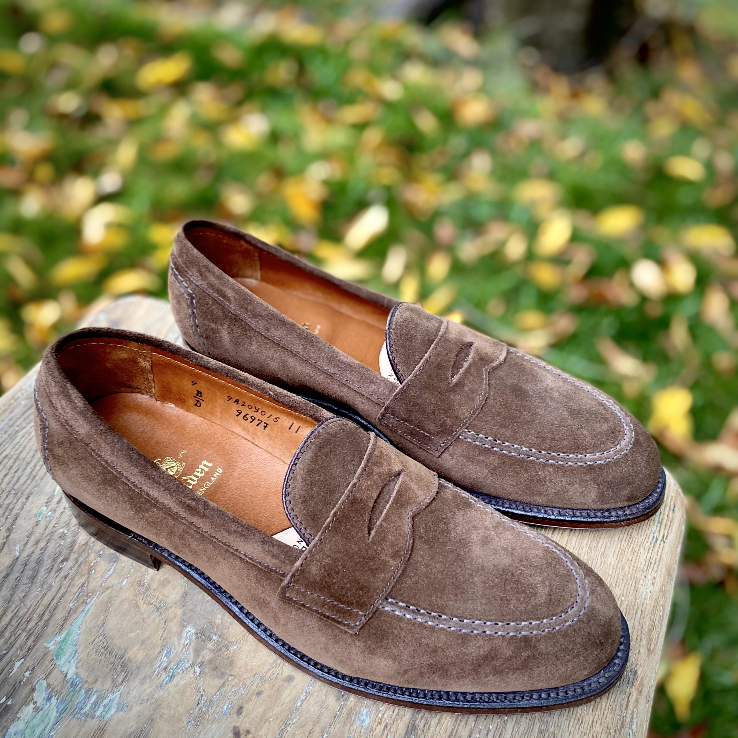Flex Penny Loafer<br>Brown Suede<br>9697F