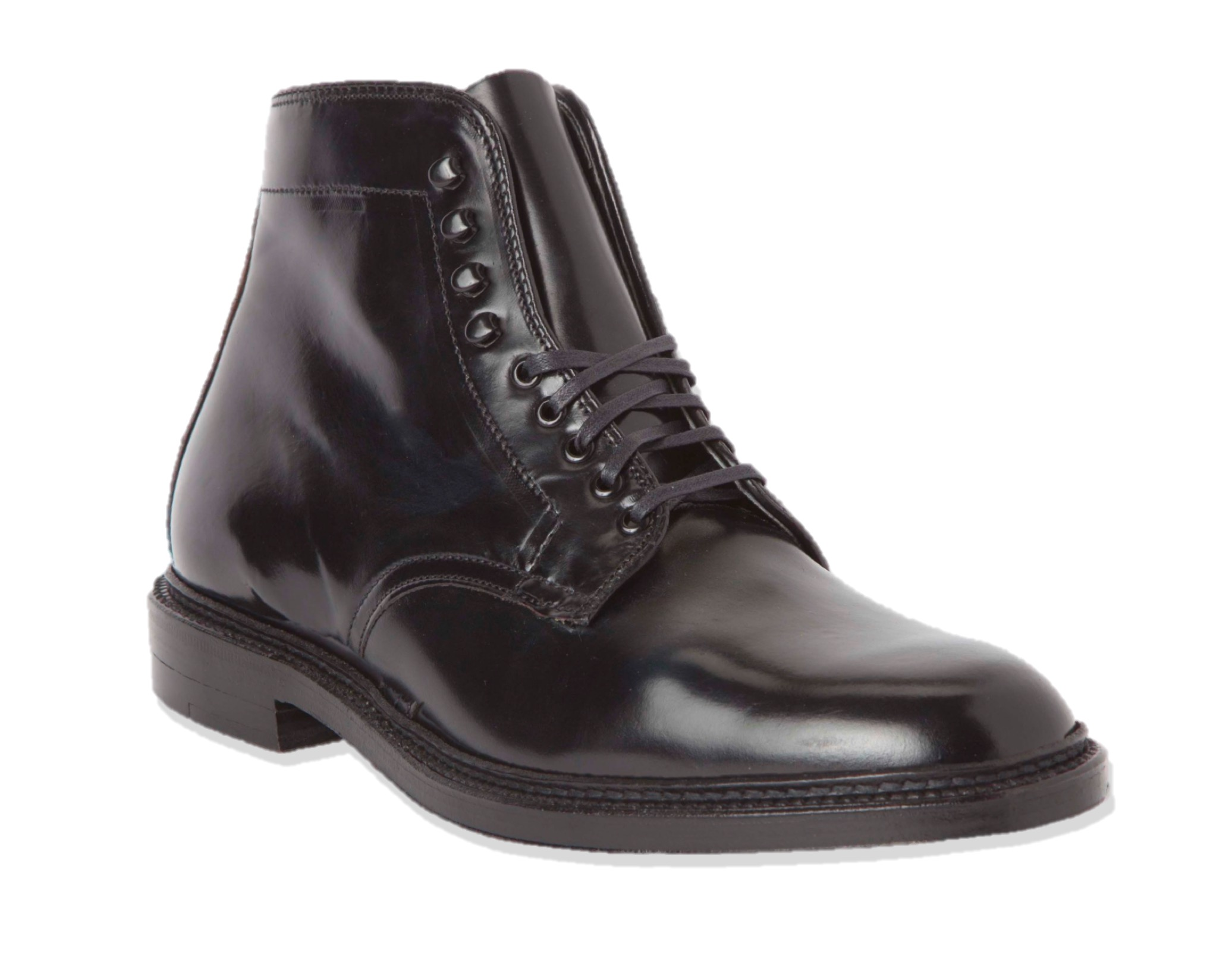 The Director Boot<br>Black Shell Cordovan<br>Crowd Fund Deposit