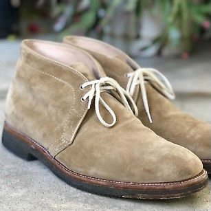 Desert Chukka Boot<br>Tan Suede<br>Barrie / Crepe