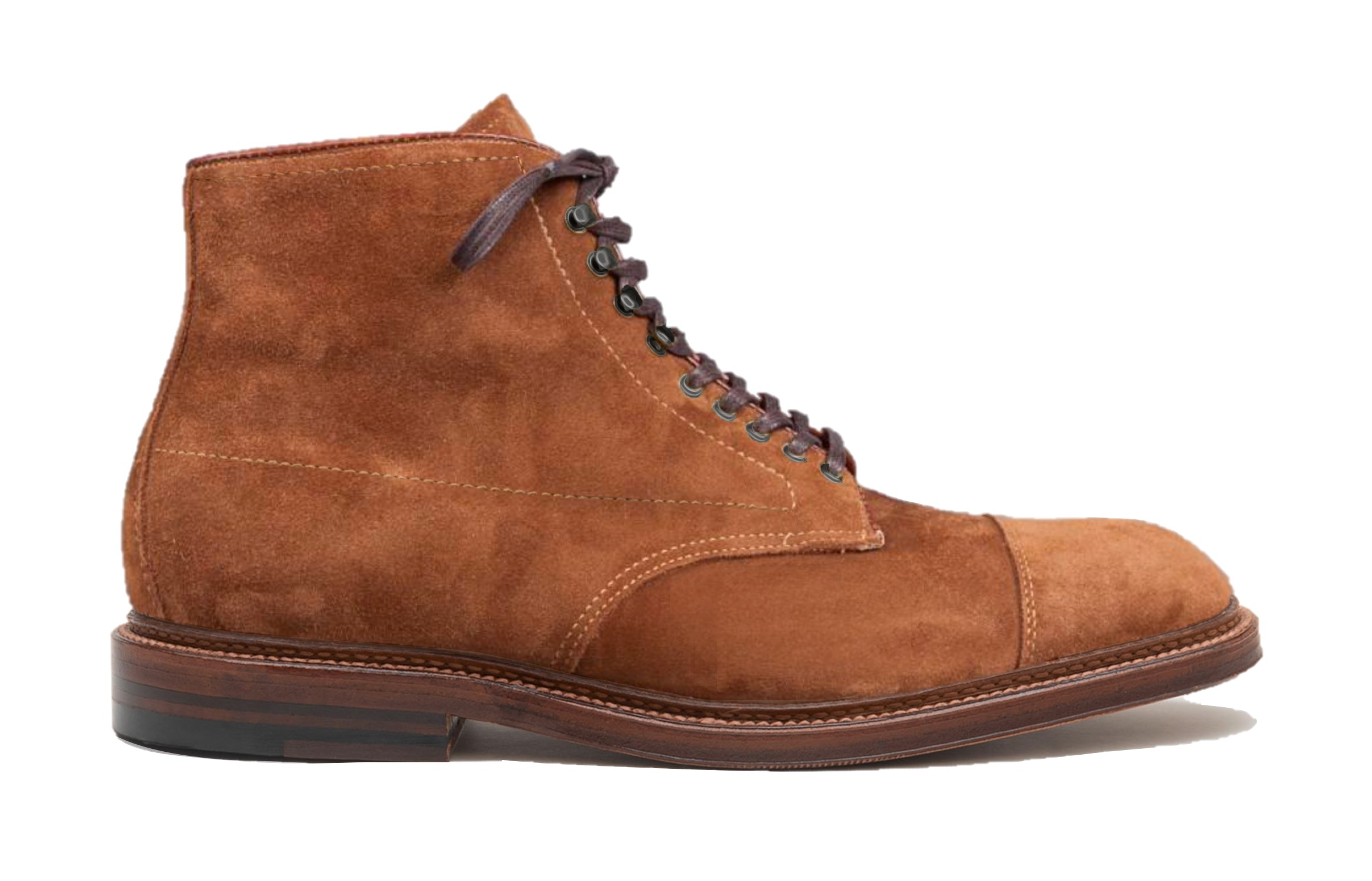 """Straight Tip """"Field Boot""""<br>Snuff Suede<br>Workshop"""